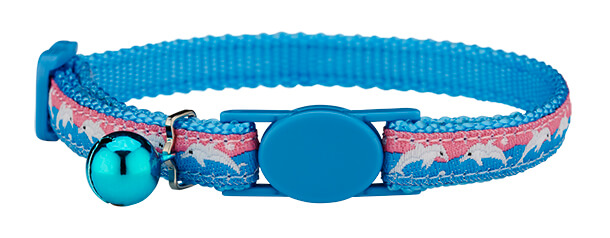 dolphins cat collar