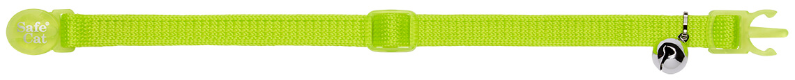 chartreuse soft cat collar