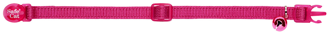 fuchsia soft cat collar