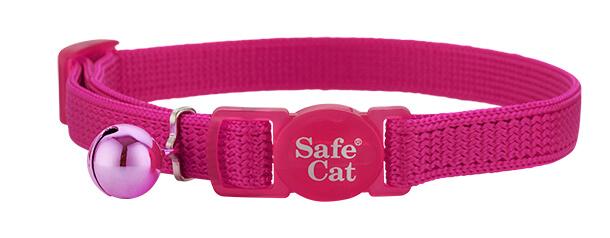 fuchsia soft cat collar