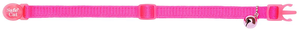neon pink soft cat collar