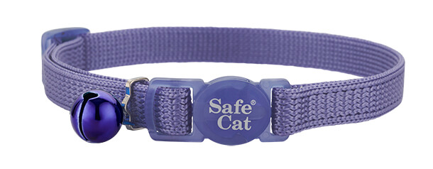 periwinkle soft cat collar