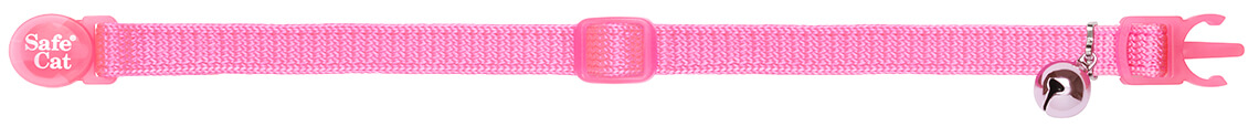 pink soft cat collar