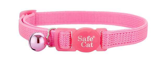 pink soft cat collar