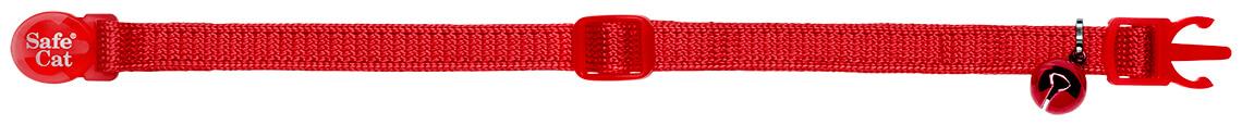 red soft cat collar