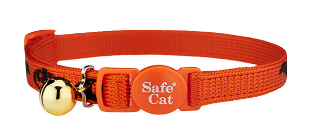 scary gang halloween cat collar